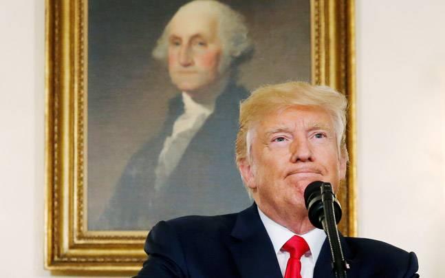 Donald Trump for defending Confederate monuments