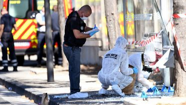 1 dead after car crashes into Marseille bus shelters