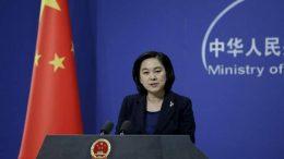 China blames India