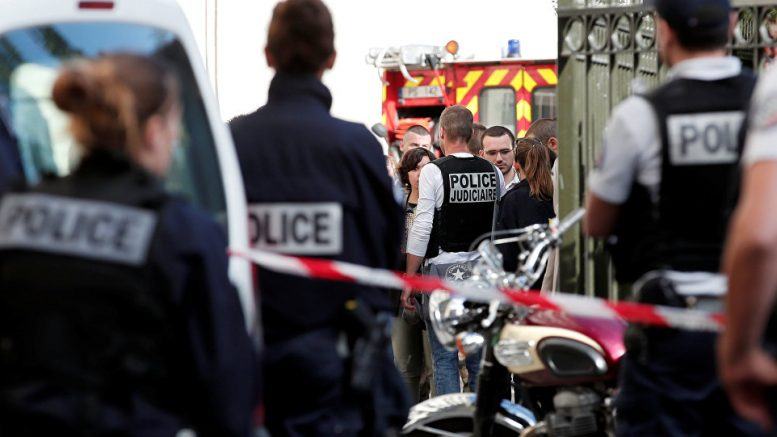Vehicle Hits Soldiers in Paris Suburb