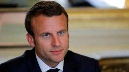 French President Macron says