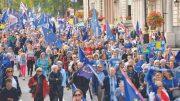 anti-Brexit march through London