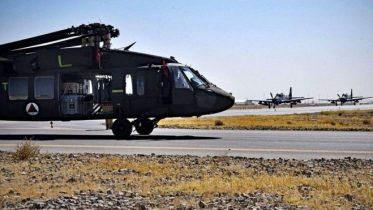 افغان پوځ ته اول ځل د امریکا بلک هاک چورلکې ورسېدې