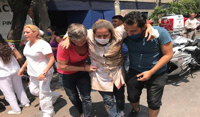 Death toll in powerful Mexico quake surges to 224