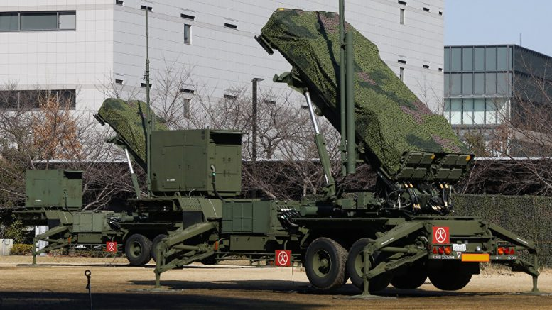 Japan Moves Missile Interceptor