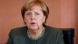 Angela Merkel about Trump's threat