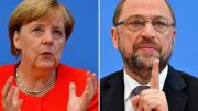 Merkel squares up to Schulz