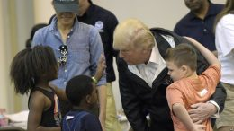 Trump Tours Storm-ravaged Gulf Coast Region