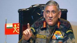 Indian Army chief warns of two-front war with China and Pakistan