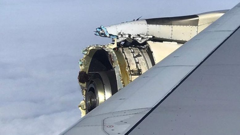 Air France plane makes emergency landing after engine blows out over the Atlantic (VIDEO, PHOTOS)
