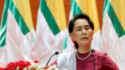 Oxford college removes painting of Aung San Suu Kyi from display