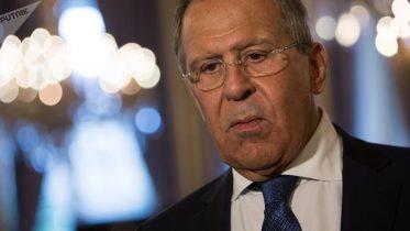 Lavrov Says the Main Priority in Korea