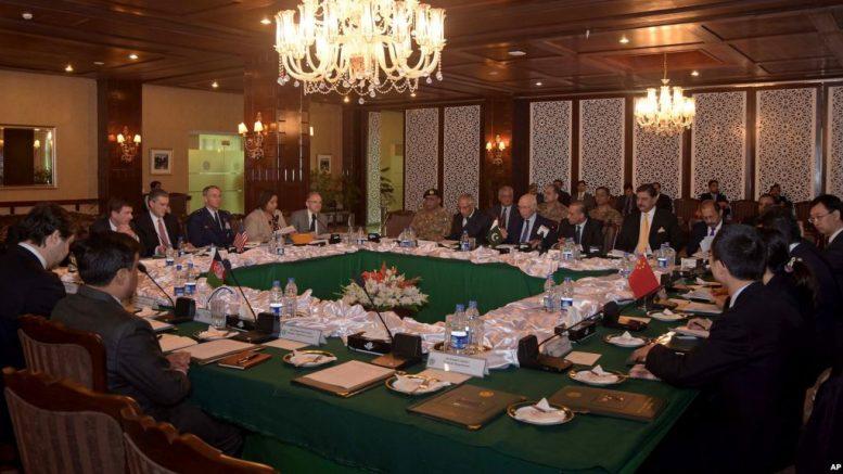 امریکا، چین او پاکستان غواړي د افغانستان د سولې بهیر بیا پیل شي