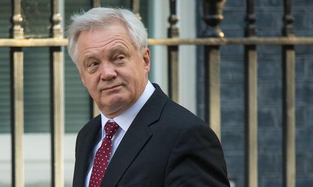 David Davis warns EU not to put 'politics above prosperity' in Brexit talks