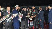 U-19 Cricket Team Returns Home To Hero's Welcome