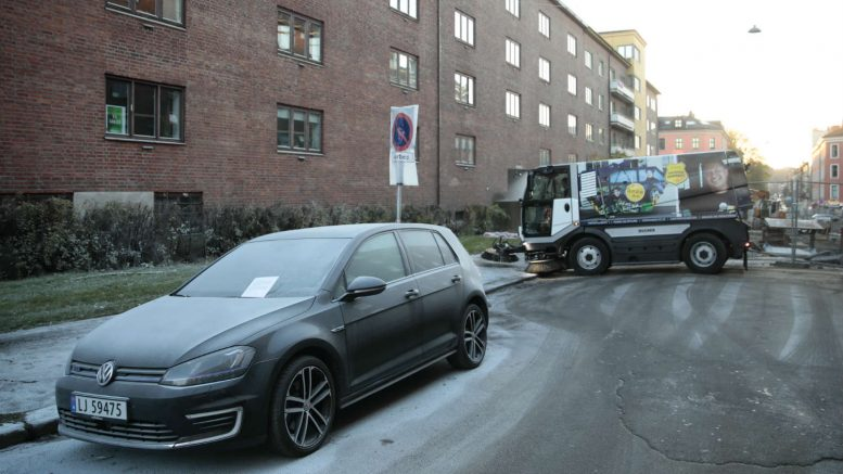 22 cars in Oslo vandalised with fire extinguishers
