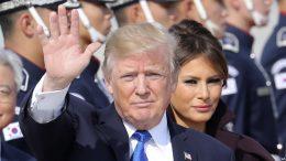 Trump Arrives in South Korea