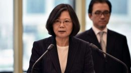 Taiwanese President Tsai Ing-wen blames China for regional instability