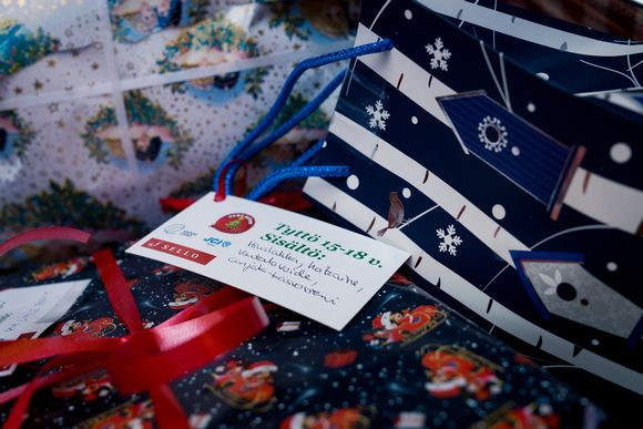 Finnish Christmas charity campaigns