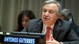 UN´s Guterres issues year-end ´red alert´