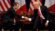 Macron tells Trump it´s important to respect Iran nuclear deal