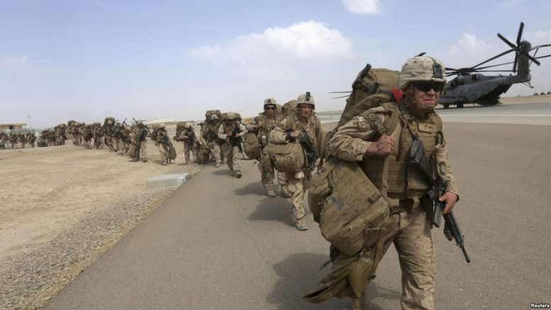 دفاع وزارت افغانستان ته د امریکا د ځانګړو ځواکونو د راتګ هرکلی کړی