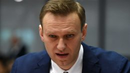 Russian Police Arrest Opposition Leader Alexei Navalny At Anti-Putin Protest