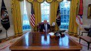 Trump Accuses Russia of Helping North Korea Evade Sanctions