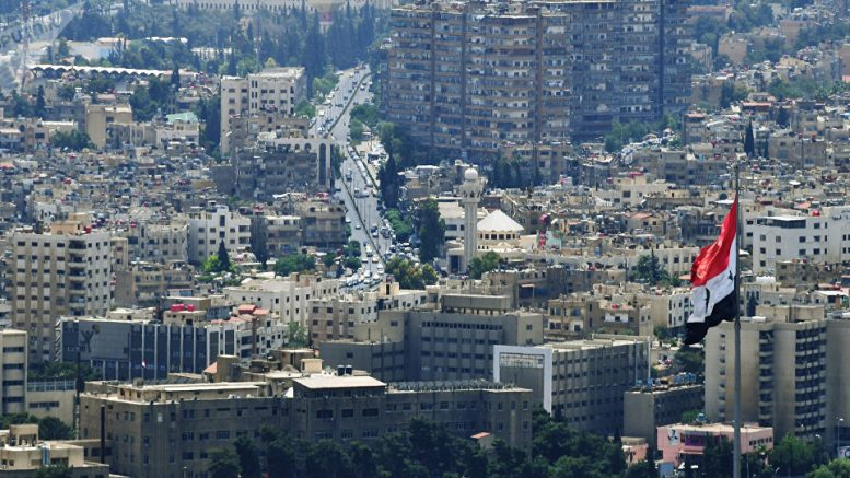 Syrian Army Reports Israeli Missile Attack on Greater Damascus