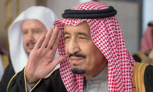 King Salman reaffirms Saudi support for independent Palestinian state