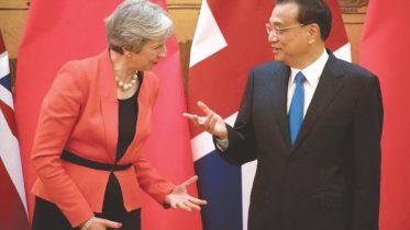 May eyes 'golden era' with China