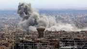 Syria war: Shelling and strikes despite Eastern Ghouta 'pause'
