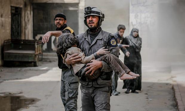 Fresh strikes kill civilians in Syrian rebel enclave