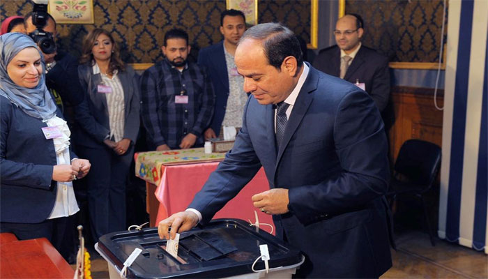 Egypt´s Sisi wins second term with 96.9% of vote: state media