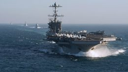 Extended Stay: US Carrier May Reportedly Remain in East Med. to 'Contain' Russia