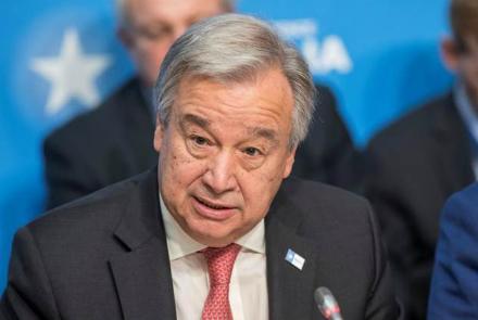 UN Chief Condemns Kabul Suicide Bombing
